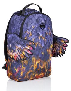 Phoenix Fire Wings Backpack | Sprayground Backpacks, Bags, and Accessories