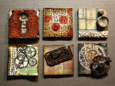 Tim Holtz Inspired Inchies