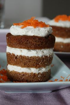 Food and Yoga for Life: Protein Carrot Cake