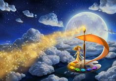 Flying Colors Print Fantasy Fine Art Nursery