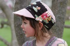 Free sunhat pattern. Make ones to match your children's summer sundresses or boy's shorts! {Clean. the LuSa Organics Blog}