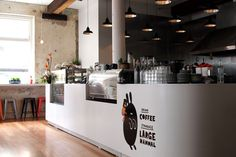 Shaky Isles Coffee Co. Coffee Shop Counter, Coffee Shops, Commercial Design, Commercial Interiors, Cafe Interior, Interior Design, Coffee Restaurants, New Architecture, Cafe House