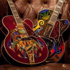 D'Angelico Guitars, pure art