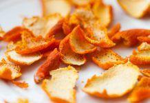 8 λόγοι που δεν πρέπει ποτέ να πετάτε τις φλούδες του πορτοκαλιού Dried Orange Peel, Dried Oranges, Dried Fruit, Fruit Benefits, Tea Benefits, Health Benefits, Orange Peels Uses, Dehydrated Food, Dehydrator Recipes