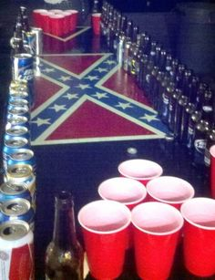 Red Solo Cup Lights | beer pong # red solo cups # party # bud light