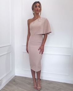Sienna Dress - Pale Pink– Pretty Lavish
