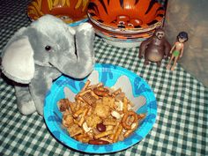 Family Movie Night Ideas with The Jungle Book Trail Mix