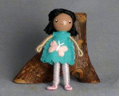 Dollhouse Bendy Doll by Princess Nimble-Thimble.