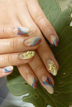 Pretty Fall 2012 Nail Art Designs
