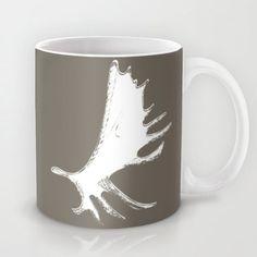 Your place to buy and sell all things handmade Moose Antlers, Deer, Rustic Mugs, Moose Mug, Animal Mugs, Dad Mug, Unique Jewelry, Tableware, Handmade Gifts