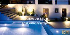 Astuce #ECOYO du jour: Pensez aux LED pour votre éclairage  Depuis peu, le rendement lumineux des lampes LED a considérablement augmenté. Elles ont une très faible consommation. Les dernières LED ont la même efficacité énergétique et un meilleur rendu des couleurs que les lampes dites économiques. Elles peuvent même remplacer des spots halogènes. Lors de l'achat, vérifiez bien leur flux lumineux (lumen) #EconomiedEnergie #AstuceDuJour #AgirPourLeClimat #BeSustnbl
