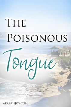 Do you struggle with negative words? Do they spew out like a poison at times? Here is encouragement for those of us who struggle with the poisonous tongue.