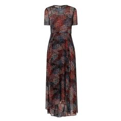 LK Bennett cami silk printed dress