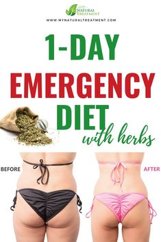 This is the Emergency Diet To Lose Weight Fast with only natural ingredients that are herbs that burn fat and help you lose weight. Weight Loss Herbs, Weight Loss Tea, Weight Loss Detox, Fast Weight Loss, How To Lose Weight Fast, Fat Fast, 1 Day Diet, Lose Weight Naturally, Natural Treatments