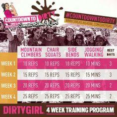 4 wk training program