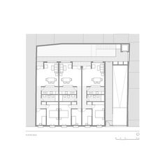 9 Dwellings in the Historic Center of Sanlucar de Barrameda,Plan