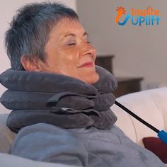 The Expandable Pain-Relief Neck Pillow Collar helps aches and pains by increasing blood circulation to all structures of the cervical spine and oxygenating muscles, nerves and tendons. Fibromyalgia Pain Relief, Neck Pain Relief, Chronic Pain, Muscle, Neck Pillow, Pain Management, Back Pain, Body Care, Relax