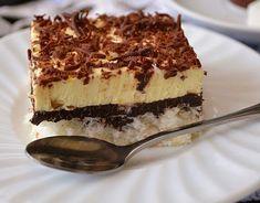 Prajitura cu nuca de cocos si crema de vanilie | Retete Culinare Coco, Tiramisu, Gluten, Ethnic Recipes, Tiramisu Cake