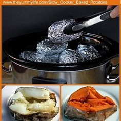 Baked Potatoes in a Slow Cooker