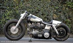 SWALLOWTAIL / ハーレーダビッドソン 1979 FLH プロが造るカスタム 【STREET-RIDE】ストリートバイク ウェブマガジン