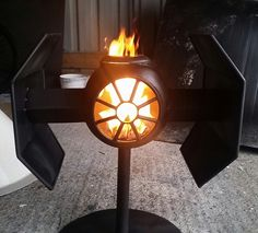Star Wars Darth Vaders TIE-Fighter burner by BC Bespoked