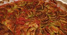 Zucchini with tomato sauce in the oven - Vejeteryan Tarifle. - Pratik Hızlı ve Kolay Yemek Tarifleri Turkish Mezze, Turkish Recipes, Ethnic Recipes, Sauce Tomate, Tasty, Yummy Food, Middle Eastern Recipes, Iftar, Vegetable Dishes