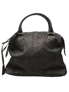 NMBERNINE  Paris python bag