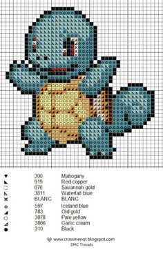 My youngest son is looking for a second x-stitch project. This fit the bill - he's very excited!