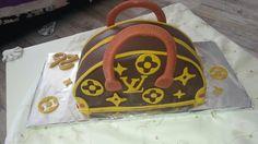 Louis vuitton Tasche mit weisser und vollmilch Schokolade