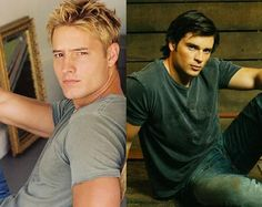 Justin Hartley and Tom Welling {The only reason I watched Smallville}