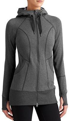 CYA Strength Hoodie 2 - Our coveted Strength Hoodie is dialed in for an even better fit and now comes in a super cozy fabric with a long length that covers up everything want. Sport Fashion, Fitness Fashion, Sporty Outfits, Fashion Outfits, Workout Attire, Womens Fashion For Work, Lauren Conrad, Hoodies, Sweatshirts