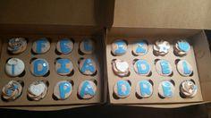 """Feliz dia del padre""  cupcakes  Father's day cupcakes"
