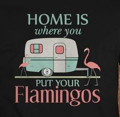 Home sweet home , flamingo Flamingo Decor, Pink Flamingos, Flamingo Funny, Pink Bird, My Spirit Animal, Happy Campers, Pretty In Pink, Florida, My Love
