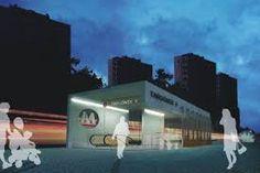 Znalezione obrazy dla zapytania stacja metra architektura