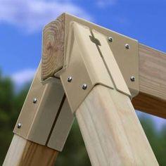 Settler Swing Beam Kit - EASY to build 3D Plans & Hardware
