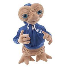 "Universal E.T. Extra Terrestrial with Blue Hoodie Sweatshirt 15"" Plush Doll"