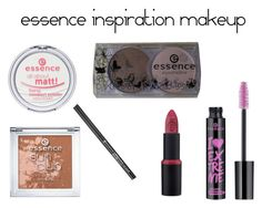 """essence inspiration makeup"" by lynamiss on Polyvore"