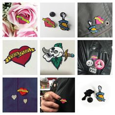 Pins patches and more follow the link in my profile. #pins #pin  #pinswag #artist #custom #fashion #gift #cute #heat #fauxtattoo #traditionaltattoo #atomicchilddesign #shopping #design #pingame #enamelpins #pinsofig #pinstagram #art #design #friedchicken #yourmom #patches #patchgame