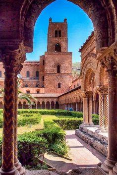 Giardino Cattedrale di Monreale - Palermo - Sicilia  #VisitingItaly