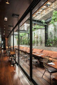 Arturito restaurant in Sao Paulo, Brazil | designed by Candida Tabet