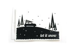 Let It Snow Cards