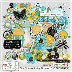 http://scraporchard.com/market/Blue-Skies-Spring-Flowers-Digital-Scrapbook-Kit.html