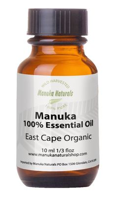 Manuka Oil 100% Organic East Cape New Zealand Best Quality