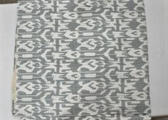 ON SALE ikat Kantha QuiltGray Queen ikat quilt by JaipurHandloom, $64.99