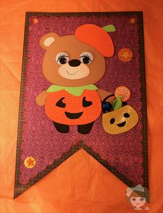 "My Crafting Channel: Teddy Bear Parade #32 ""Pumpkin"""