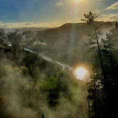 Lovely early morning view of fog lifting over the beautiful Whanganui River as seen from the Whanganui River Road by @BeauDean :) Read all about it here folks www.visitwhanganui.nz/whanganui-river/ #visitwhanganui  #whanganui #newzealand #wanganui #northisland #travelnz #visitnewzealand #newzealandbeauty #whanganuiriver #nzmustdo #kiwi_photos #kiwipics #travelgram #lonelyplanet #nz #mustdonz #sunrise #fog