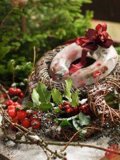 Homemade Ice Wreath