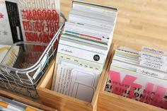 Ali Edwards | Blog: Supply Organization | Breaking Up My Story Kits™