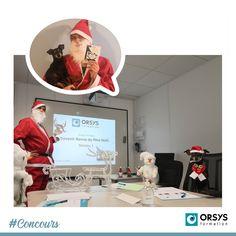 """Avec les conditions sanitaires, nous n'avons pas pu faire notre traditionnel concours de décorations des bureaux pour Noël 😞🎄 Nous avons donc lancé un concours photos sur le thème du Noël ORSYS à réaliser en télétravail ou en présentiel. C'est Henri (oui, oui, c'est bien lui sous le costume !) du centre de Strasbourg qui décroche la 3ème place avec son adorable chien Jago (à prononcer """"Yago"""") ! Bravo à ce binôme de choc 🎅🐶 Henri remporte une carte cadeau d'une valeur de 100€ ! 👏 Team Building, Concours Photo, Bravo, Henri, Oui Oui, Strasbourg, Place, Costume, Baseball Cards"""