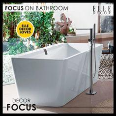 #elledecorloves #focusonbathrooms #decorfocus #interior #bathroom #decor